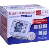 Aponorm Blutdruck Messgerät Mobil Basis Handgelenk