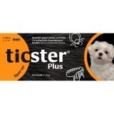 TICSTER Plus Spot-on Lsg.z.Auftropf.f.Hund 4-10kg