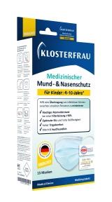 KLOSTERFRAU med.Mund- & Nasenschutz f.Kinder
