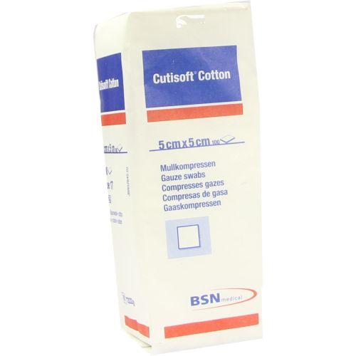 CUTISOFT Cotton Kompr.5x5 cm