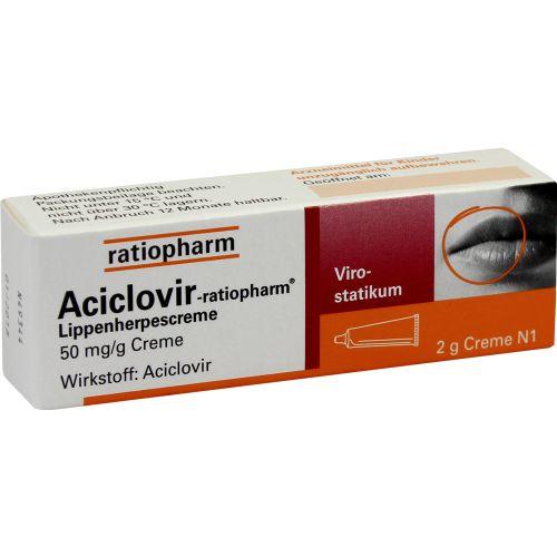 ACICLOVIR-ratiopharm Lippenherpescreme