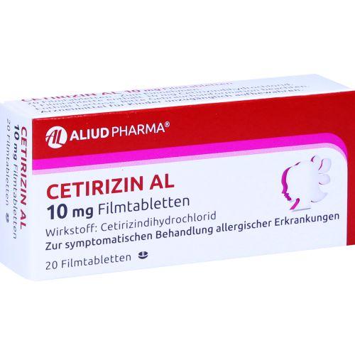 CETIRIZIN AL 10 mg Filmtabletten