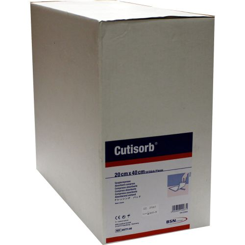 CUTISORB Saugkompressen unsteril 20x40 cm