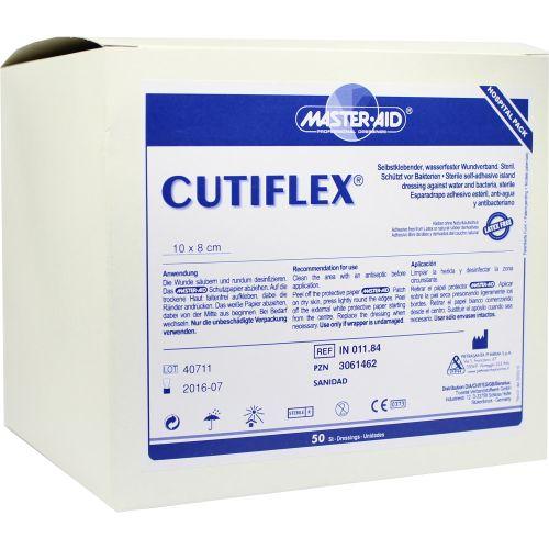 CUTIFLEX Folien-Wundverb.8x10cm steril Master Aid