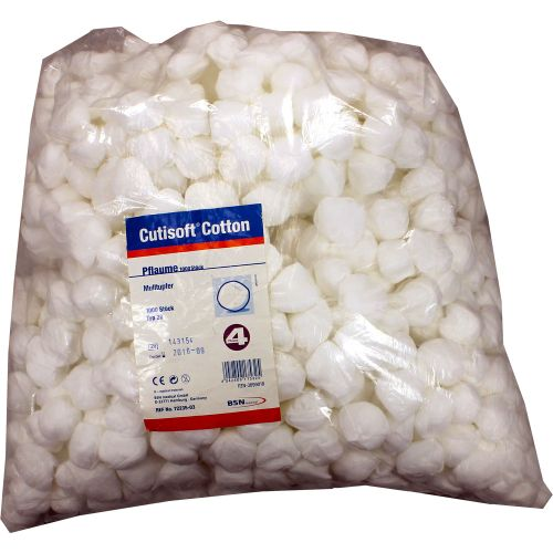 CUTISOFT Cotton Tupfer unsteril pflaumengroß