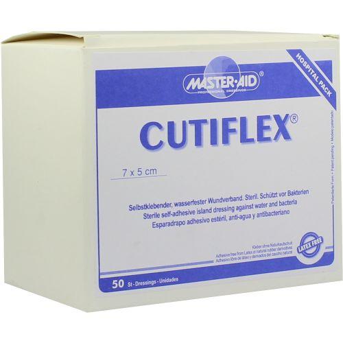 CUTIFLEX Folien-Wundverb.5x7cm steril Master Aid