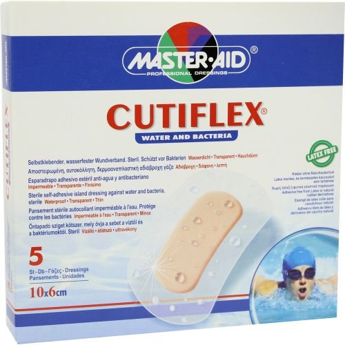 CUTIFLEX Folien-Pflaster 6x10cm steril Master Aid