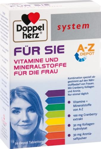 DOPPELHERZ für SIE system Tabletten