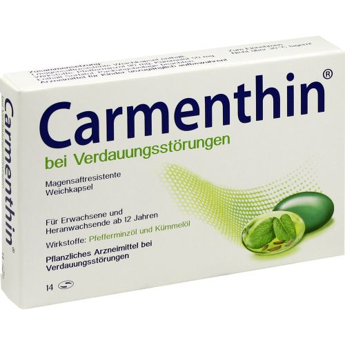 CARMENTHIN bei Verdauungsstörungen msr.Weichkaps.
