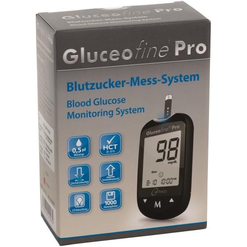 GLUCEOFINE Pro Blutzucker-Mess-System