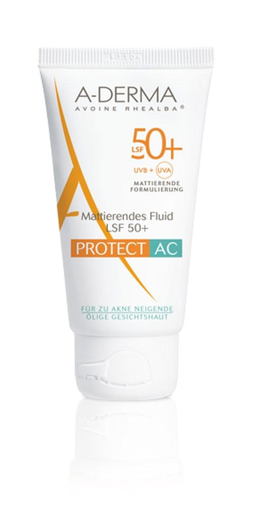 A-DERMA PROTECT AC SPF 50+ Mattierendes Fluid