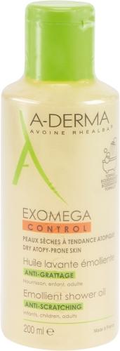 A-DERMA EXOMEGA CONTROL Geschmeidigmachend Duschöl