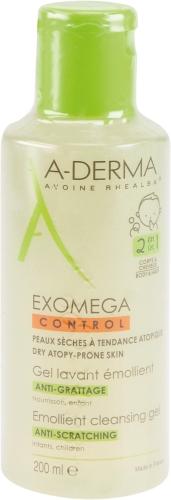 A-DERMA EXOMEGA CONTROL Reinigungsgel 2in1