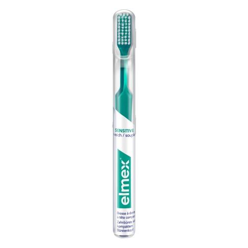 ELMEX 29 sensitive Zahnbürste im Köcher
