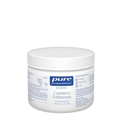 PURE ENCAPSULATIONS Cranberry D-Mannose Pulver