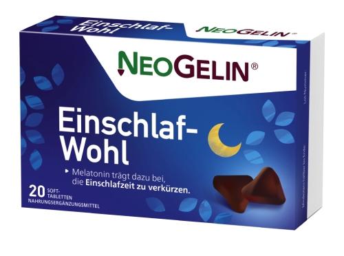 NEOGELIN Einschlaf-Wohl Kautabletten