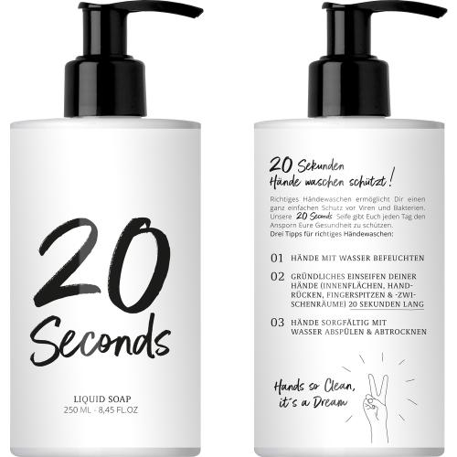 20 Seconds Liquid Soap