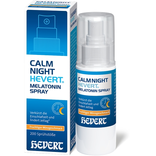 CALMNIGHT Hevert Melatonin Spray
