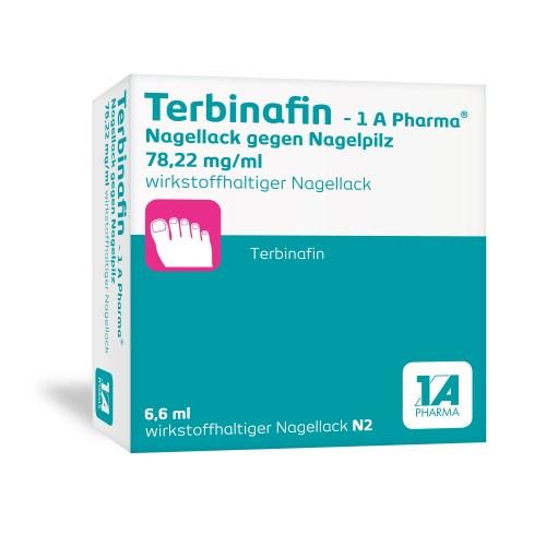 TERBINAFIN-1A Pharma Nagellack gegen Nagelpilz 78,22mg/ml