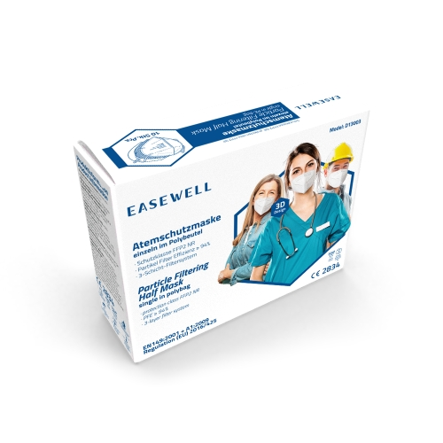 FFP2 NR Atemschutzmaske ohne Ventil CE2834